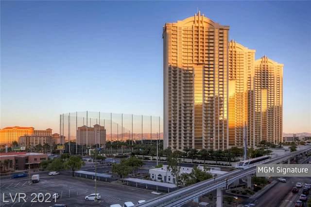 135 E Harmon Avenue #3321, Las Vegas, NV 89109 (MLS #2345095) :: Jeffrey Sabel