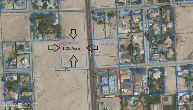 0 Jones & Ponderosa Way, Las Vegas, NV 89118 (MLS #1900756) :: The Lindstrom Group