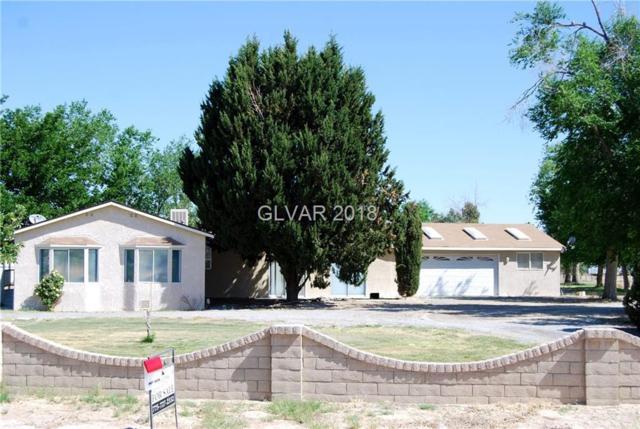 1130 W Black, Pahrump, NV 89060 (MLS #1927847) :: The Snyder Group at Keller Williams Realty Las Vegas