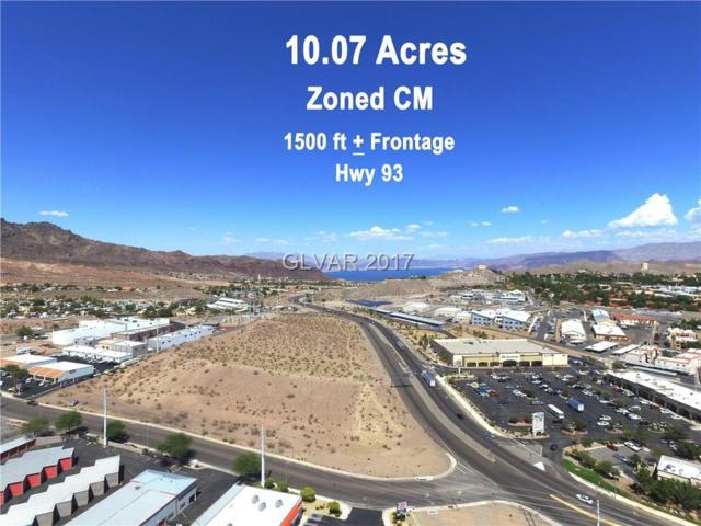 1001 Industrial Road, Boulder City, NV 89005 (MLS #1940083) :: Signature Real Estate Group