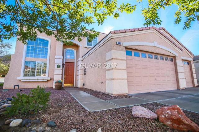 649 Tyler Ridge, Henderson, NV 89012 (MLS #1949945) :: The Snyder Group at Keller Williams Realty Las Vegas