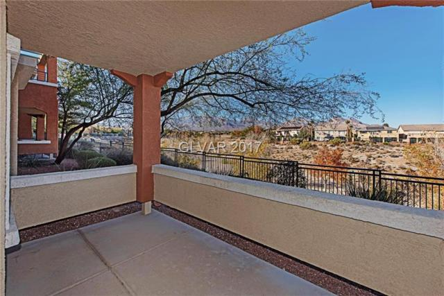 10600 Amber Ridge #103, Las Vegas, NV 89144 (MLS #1953374) :: Trish Nash Team