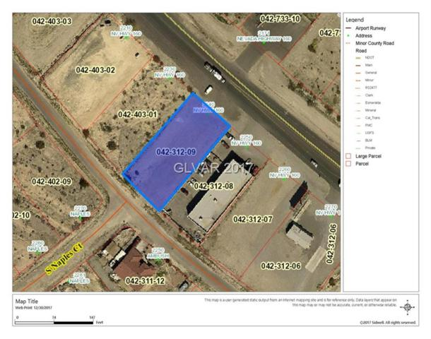 2240 S Nevada, Pahrump, NV 89048 (MLS #1955776) :: Trish Nash Team
