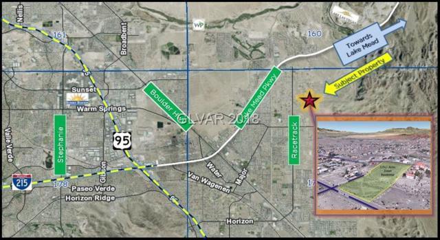 Geneva Ave & Orleans St., Las Vegas, NV 89015 (MLS #1960691) :: The Snyder Group at Keller Williams Realty Las Vegas