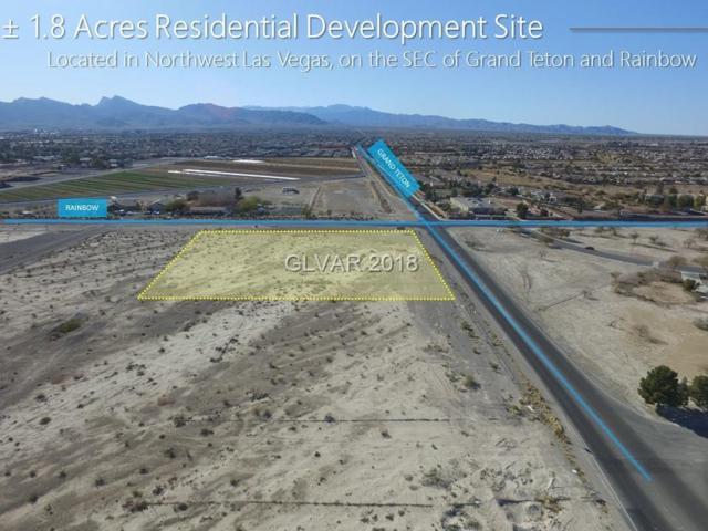 0 Grand Teton & Rainbow Blvd, Las Vegas, NV 89131 (MLS #1969139) :: Vestuto Realty Group