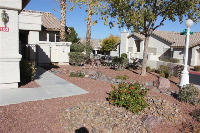 9320 Mt Cash #103, Las Vegas, NV 89129 (MLS #1970708) :: Sennes Squier Realty Group