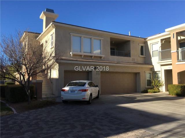 820 Titan Peak #206, Las Vegas, NV 89144 (MLS #1971781) :: Signature Real Estate Group
