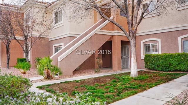 401 Pine Haven #103, Las Vegas, NV 89144 (MLS #1975493) :: Signature Real Estate Group