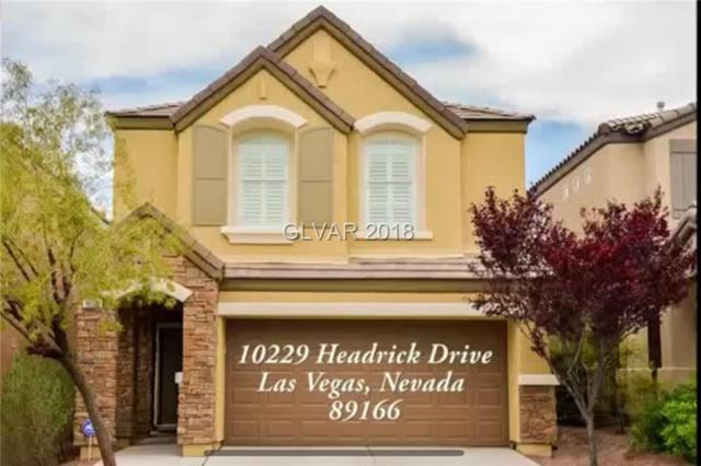 10229 Headrick, Las Vegas, NV 89166 (MLS #1975961) :: Realty ONE Group