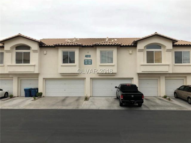 4810 Black Bear #203, Las Vegas, NV 89149 (MLS #1978273) :: Sennes Squier Realty Group
