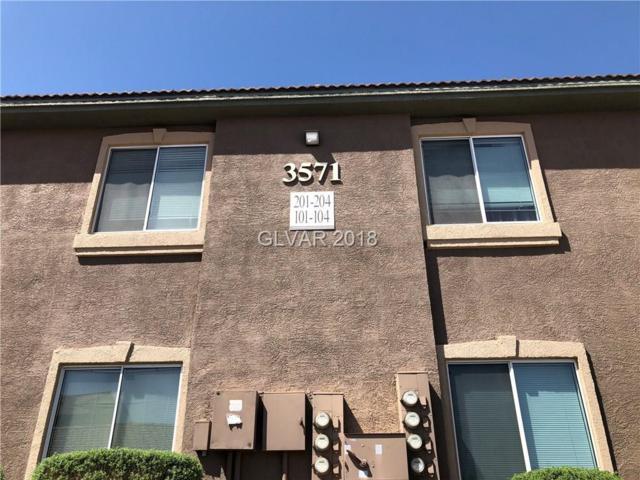 3571 Desert Cliff #103, Las Vegas, NV 89129 (MLS #1979056) :: Sennes Squier Realty Group