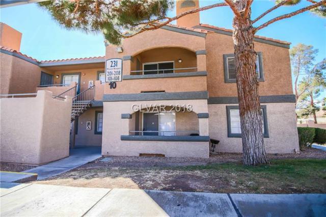 231 Mission Newport #204, Las Vegas, NV 89107 (MLS #1979852) :: Trish Nash Team