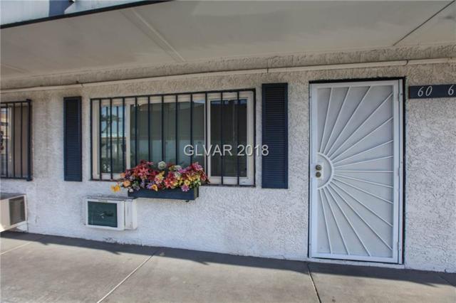 4600 Swenson #60, Las Vegas, NV 89119 (MLS #1981337) :: Sennes Squier Realty Group