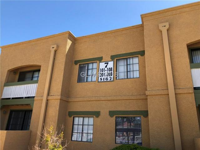 5162 Jones Boulevard #103, Las Vegas, NV 89118 (MLS #1985605) :: The Shear Team