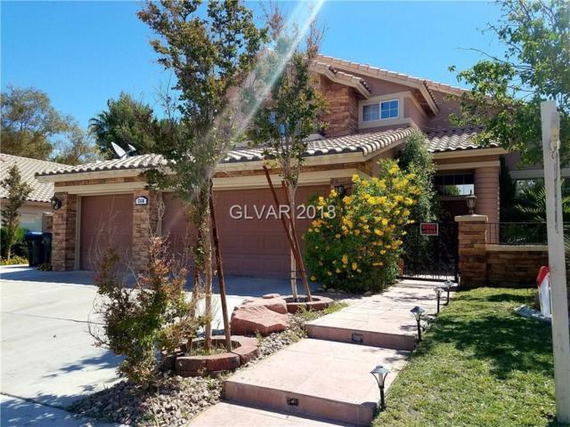 268 El Camino Verde, Henderson, NV 89074 (MLS #1995804) :: The Machat Group | Five Doors Real Estate