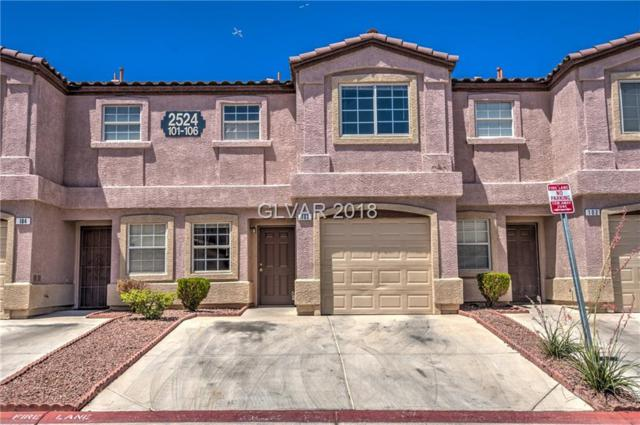 2524 Charleville #103, Las Vegas, NV 89106 (MLS #2001760) :: Trish Nash Team