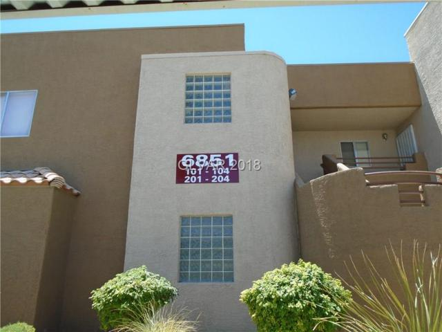 6851 Tamarus #101, Las Vegas, NV 89119 (MLS #2002472) :: Trish Nash Team