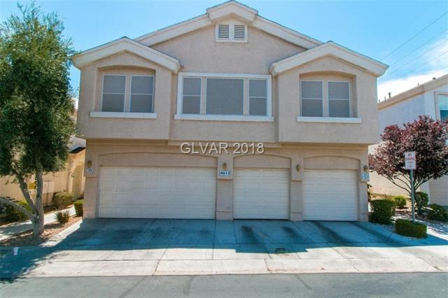4613 Even Money #101, Las Vegas, NV 89122 (MLS #2011606) :: Sennes Squier Realty Group