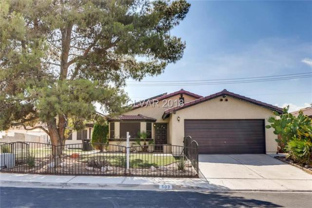 503 Sheffield, Henderson, NV 89014 (MLS #2011953) :: The Snyder Group at Keller Williams Marketplace One
