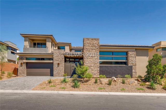 11448 Opal Springs, Las Vegas, NV 89135 (MLS #2015048) :: Signature Real Estate Group
