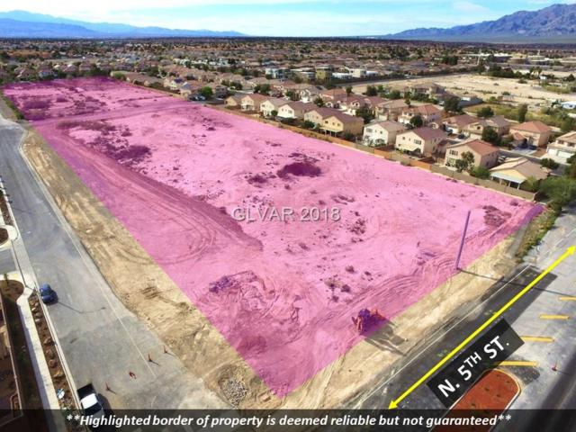 0 N 5TH St. / Verde Way, North Las Vegas, NV 89031 (MLS #2019865) :: Vestuto Realty Group