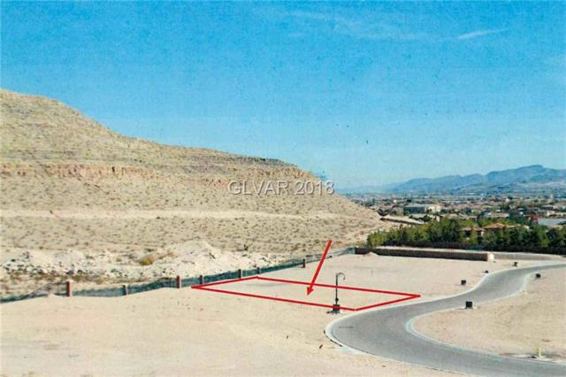 15 Olympia Canyon, Las Vegas, NV 89141 (MLS #2022023) :: Trish Nash Team