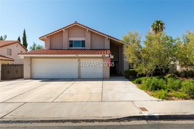 1815 Navarre, Henderson, NV 89014 (MLS #2022242) :: Trish Nash Team