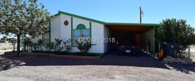 291 W Liberty, Pahrump, NV 89048 (MLS #2025597) :: The Snyder Group at Keller Williams Realty Las Vegas