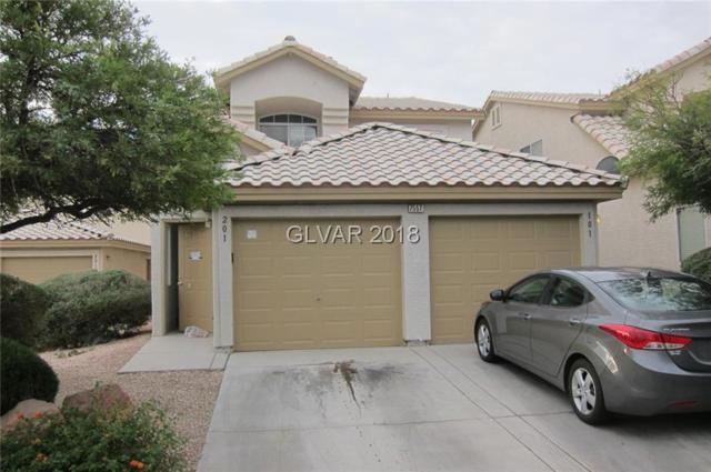 7557 Glowing Ember #201, Las Vegas, NV 89130 (MLS #2027426) :: Sennes Squier Realty Group