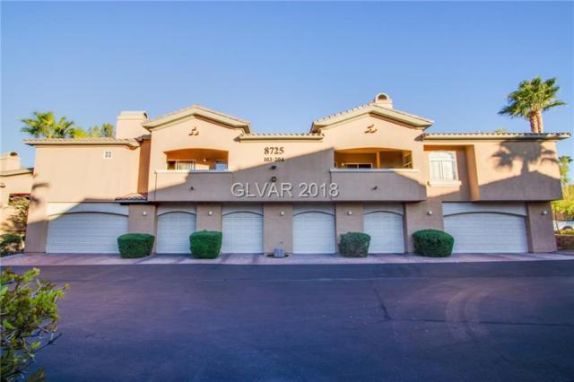 8725 Red Rio #203, Las Vegas, NV 89128 (MLS #2030620) :: Sennes Squier Realty Group