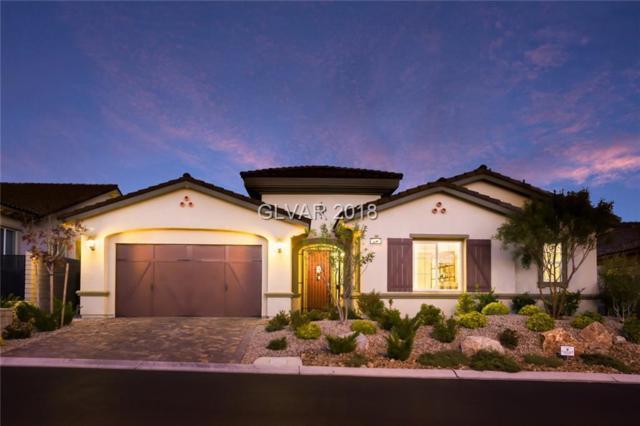 274 Evante, Las Vegas, NV 89138 (MLS #2034291) :: The Machat Group | Five Doors Real Estate