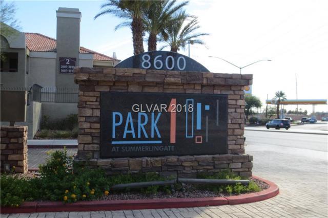 8600 W Charleston #1089, Las Vegas, NV 89145 (MLS #2036788) :: The Snyder Group at Keller Williams Realty Las Vegas