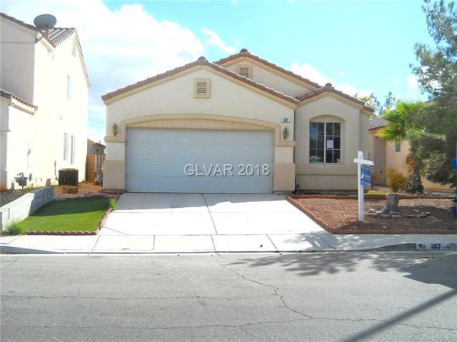 107 Willow Dove, Las Vegas, NV 89123 (MLS #2037063) :: Vestuto Realty Group