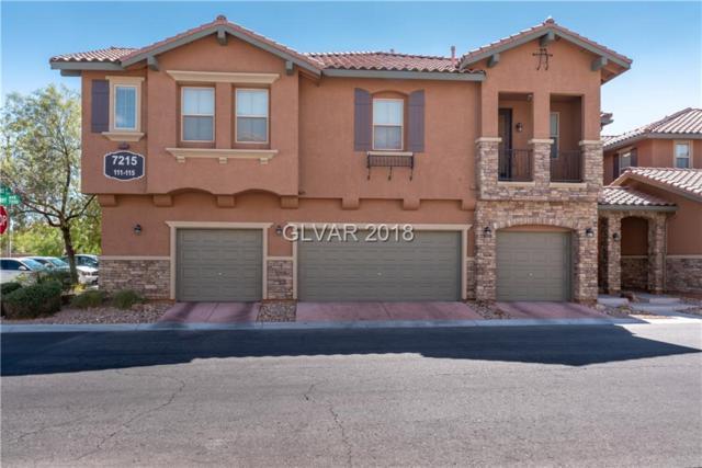 7215 Moonraker #111, Las Vegas, NV 89178 (MLS #2038369) :: The Snyder Group at Keller Williams Realty Las Vegas