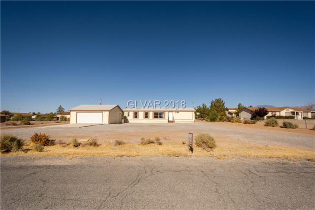 460 E Elderberry, Pahrump, NV 89048 (MLS #2045713) :: The Machat Group | Five Doors Real Estate