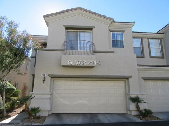 705 Respectful Ridge, Henderson, NV 89012 (MLS #2050489) :: The Snyder Group at Keller Williams Marketplace One