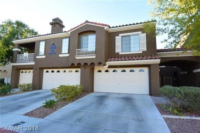 7250 Diamond Canyon #102, Las Vegas, NV 89149 (MLS #2051099) :: Sennes Squier Realty Group