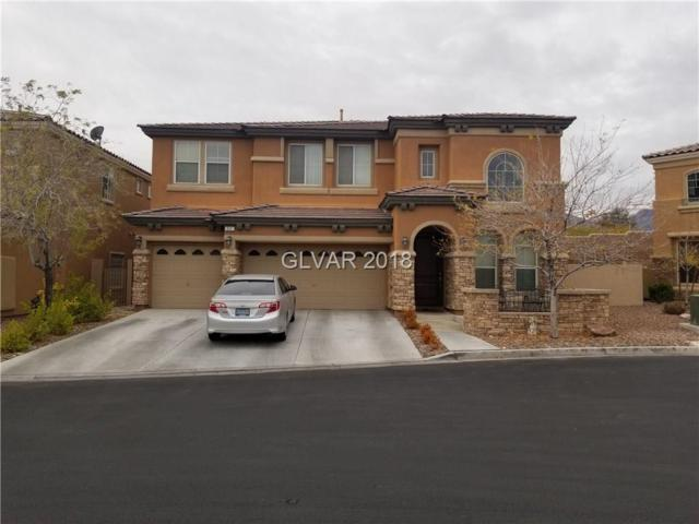 511 Los Dolces, Las Vegas, NV 89138 (MLS #2053073) :: The Snyder Group at Keller Williams Marketplace One