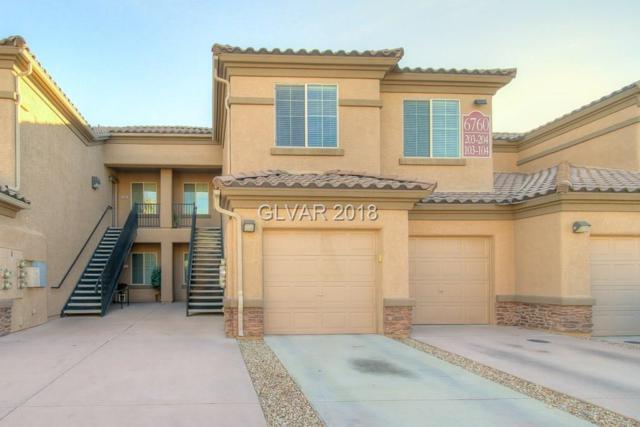 6760 Abruzzi #203, North Las Vegas, NV 89084 (MLS #2056787) :: The Snyder Group at Keller Williams Marketplace One
