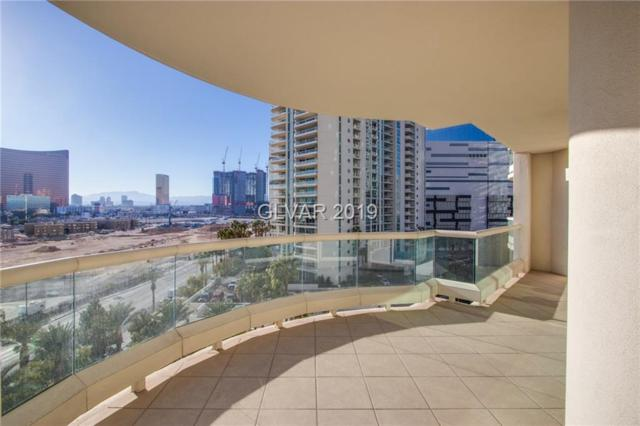 2857 Paradise #801, Las Vegas, NV 89109 (MLS #2058567) :: The Snyder Group at Keller Williams Marketplace One