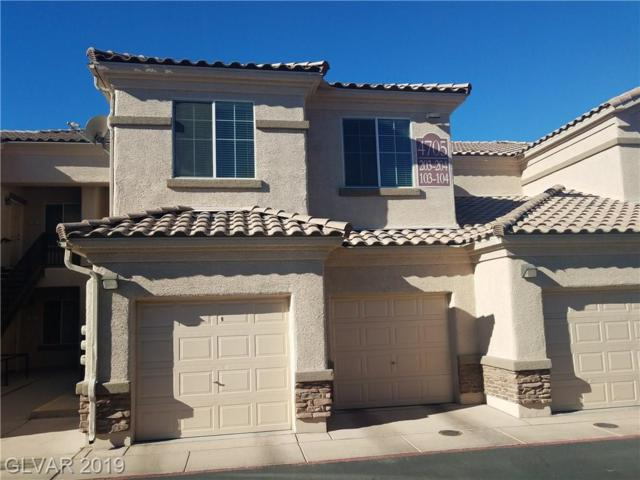 4705 Apulia #203, North Las Vegas, NV 89084 (MLS #2059523) :: Trish Nash Team