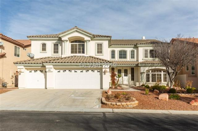 52 Misty Springs, Las Vegas, NV 89148 (MLS #2062295) :: Vestuto Realty Group
