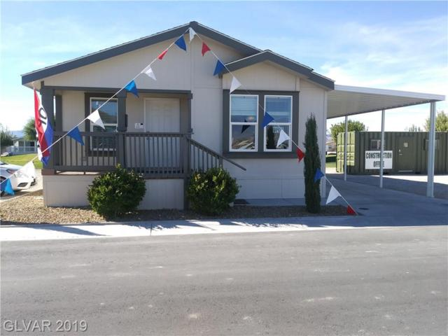 136 Montecito, Pahrump, NV 89048 (MLS #2068184) :: The Snyder Group at Keller Williams Marketplace One