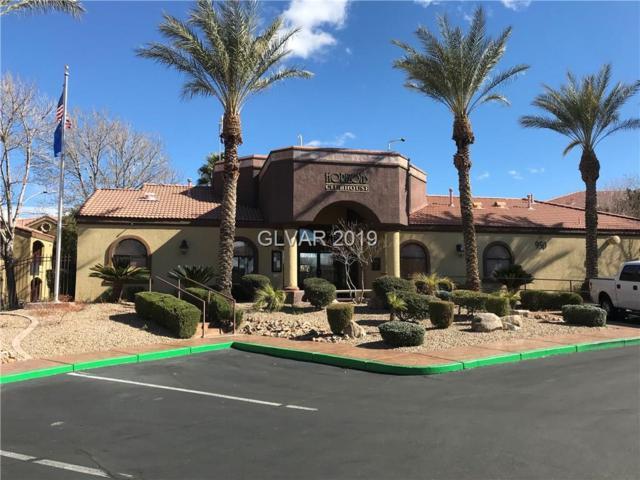 950 Seven Hills #2422, Henderson, NV 89052 (MLS #2068772) :: The Snyder Group at Keller Williams Marketplace One
