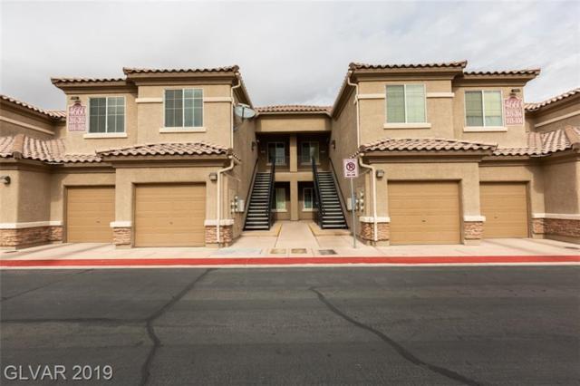 4660 Basilicata #103, North Las Vegas, NV 89084 (MLS #2069773) :: The Snyder Group at Keller Williams Marketplace One