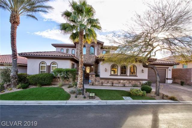 19 Avenida Sorrento, Henderson, NV 89011 (MLS #2071404) :: Signature Real Estate Group