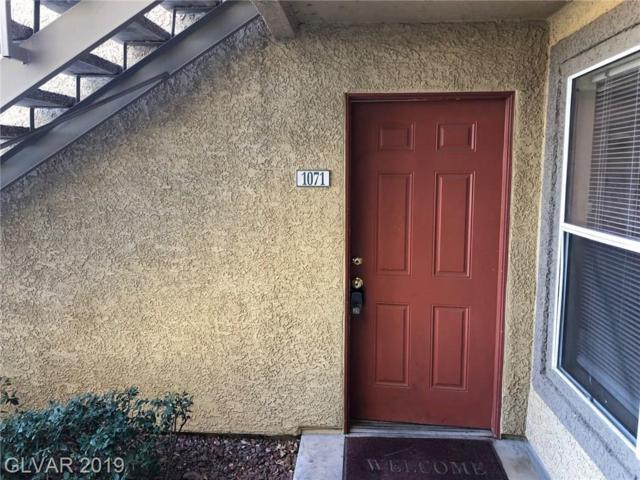 2300 Silverado Ranch #1071, Las Vegas, NV 89123 (MLS #2073786) :: Trish Nash Team