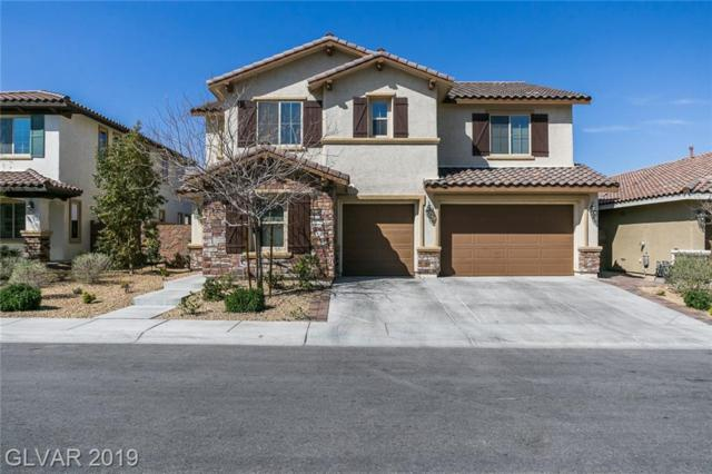 1129 Via Della Costrella, Henderson, NV 89011 (MLS #2080962) :: The Snyder Group at Keller Williams Marketplace One