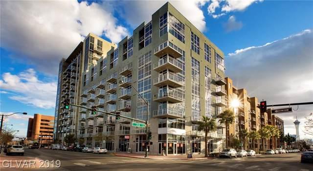353 E Bonneville #762, Las Vegas, NV 89101 (MLS #2088987) :: The Snyder Group at Keller Williams Marketplace One