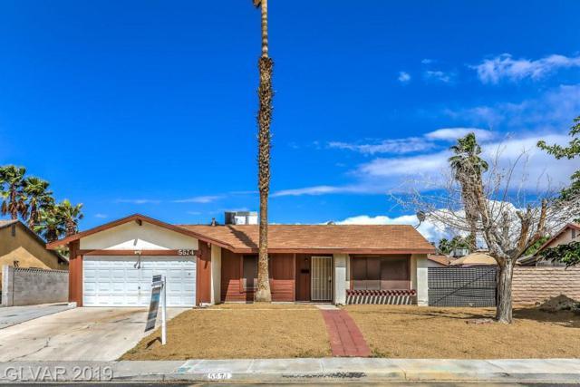 5574 Chestnut, Las Vegas, NV 89119 (MLS #2097622) :: Signature Real Estate Group